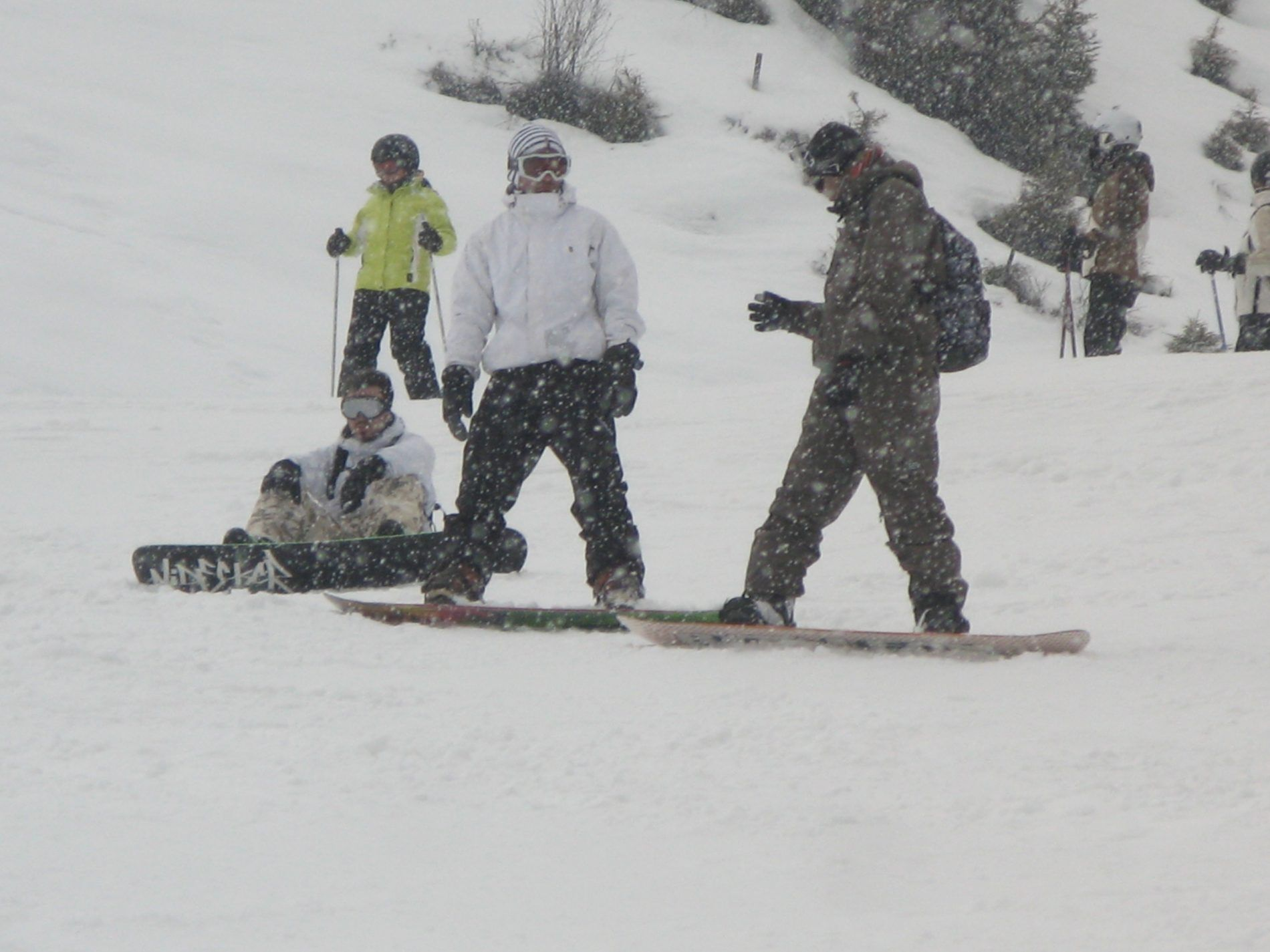 snowboard travelshare.gr - bad weather