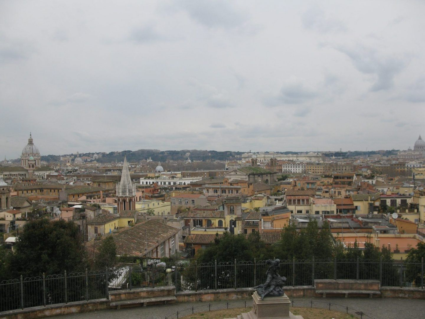 View from Villa Borghese μέρες στη Ρώμη travelshare.gr