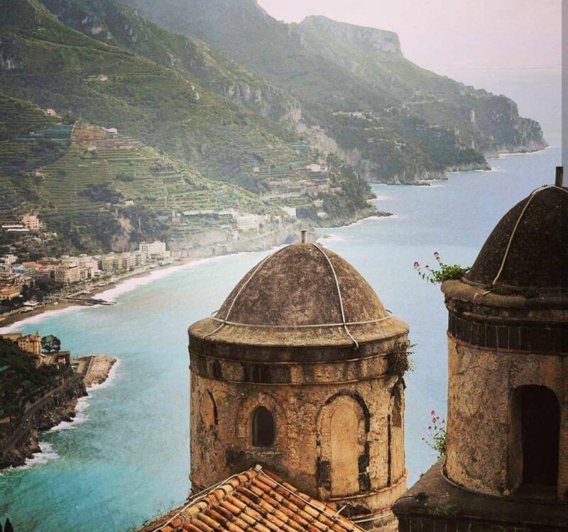 Ravello view to costiera Amalfitana travelshare.gr