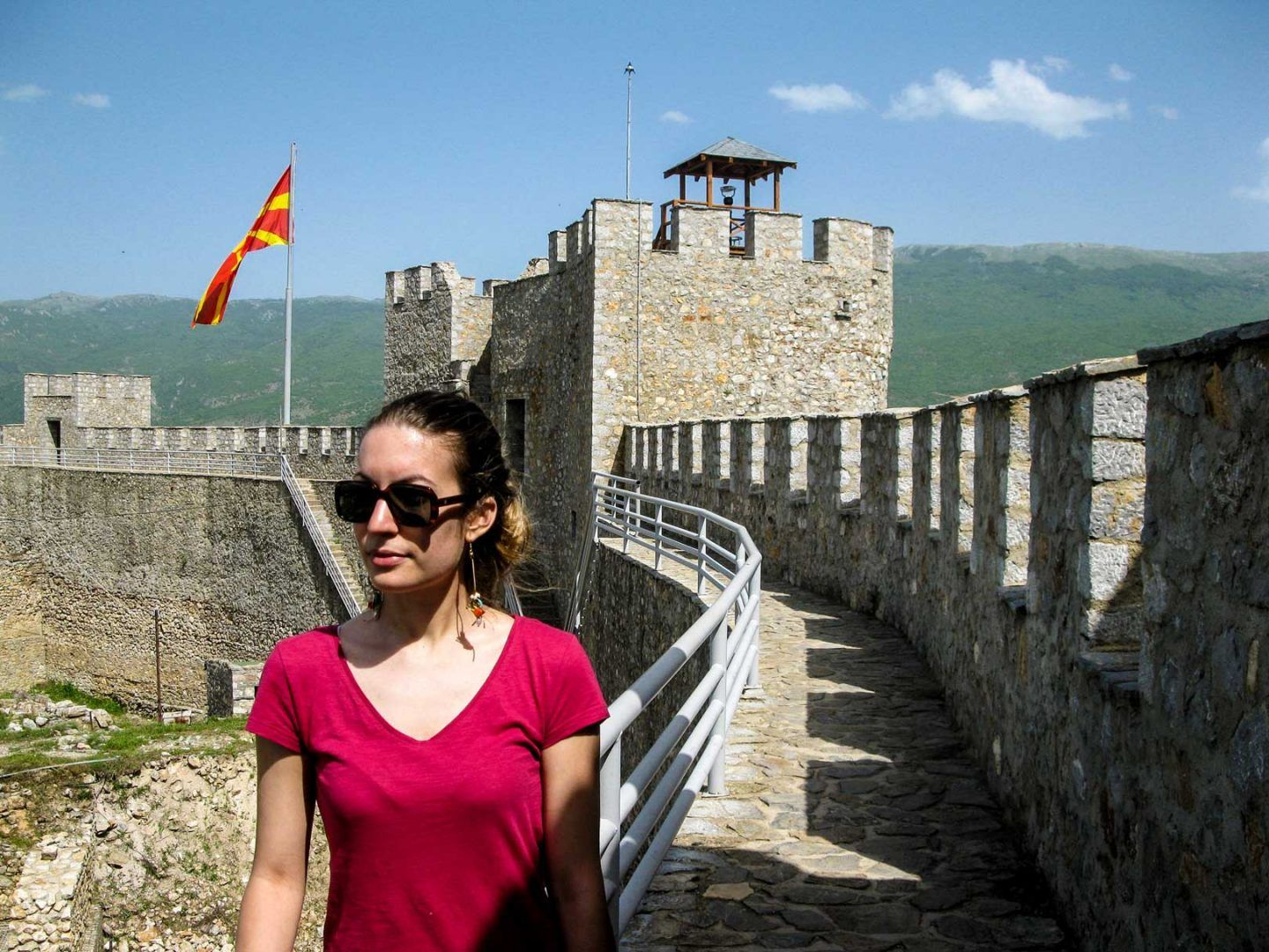 up to the ohrid fort travelshare.gr Οχρίδα