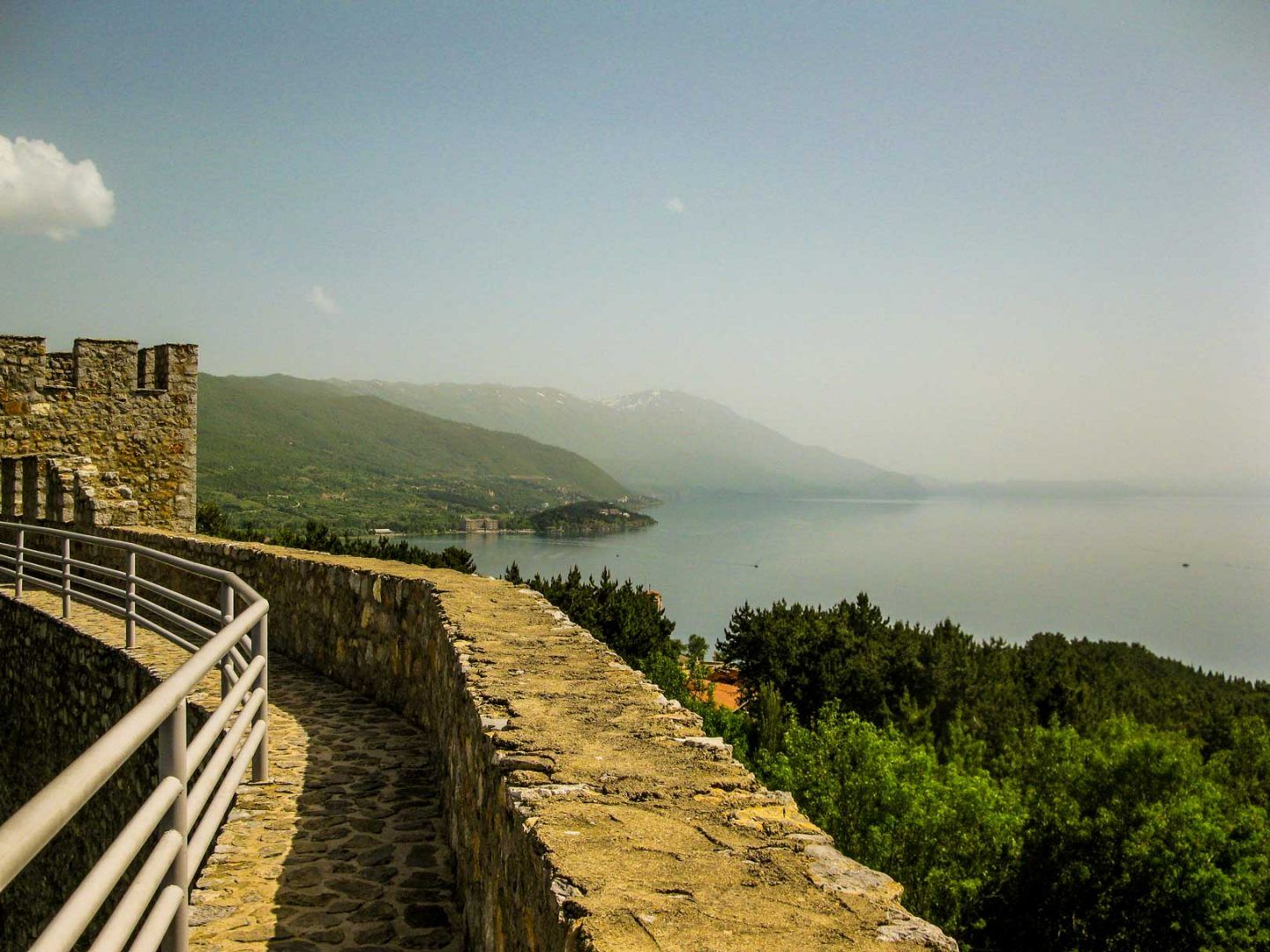 view to ohrid lake above the fort travelshare.gr Οχρίδα