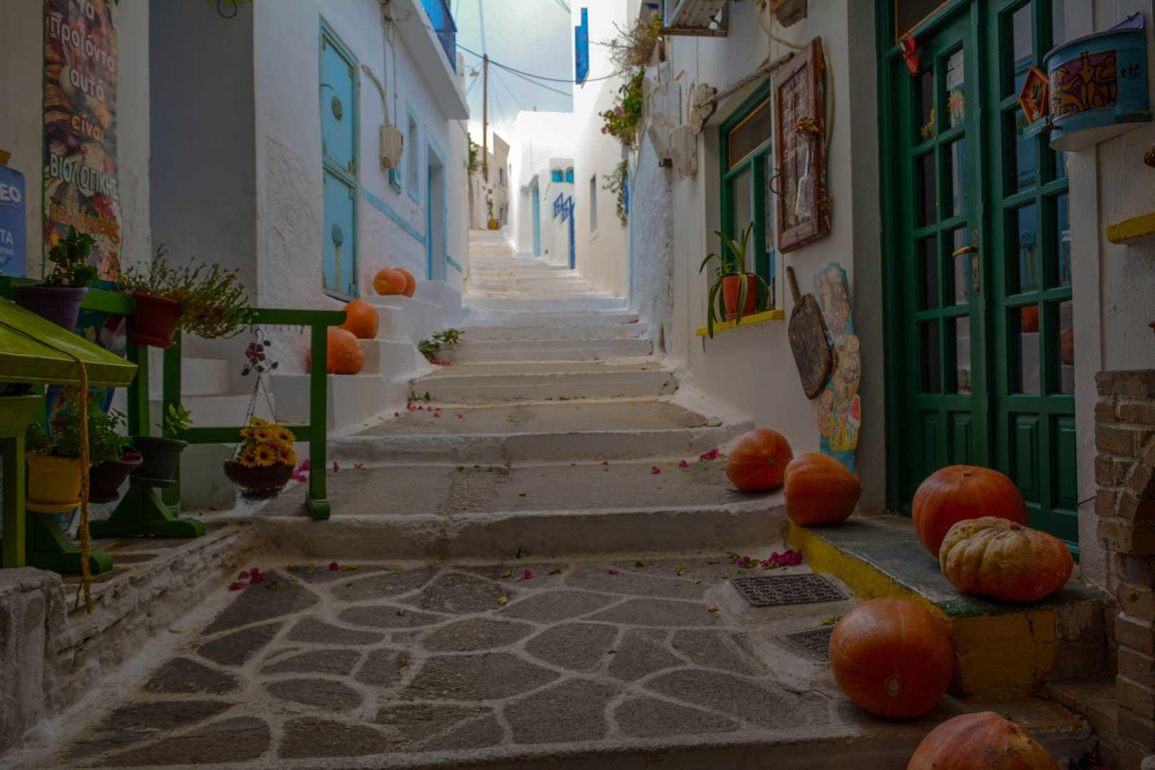 καλντερίμι στη Λαγκάδα στην Αμοργό travelshare.gr