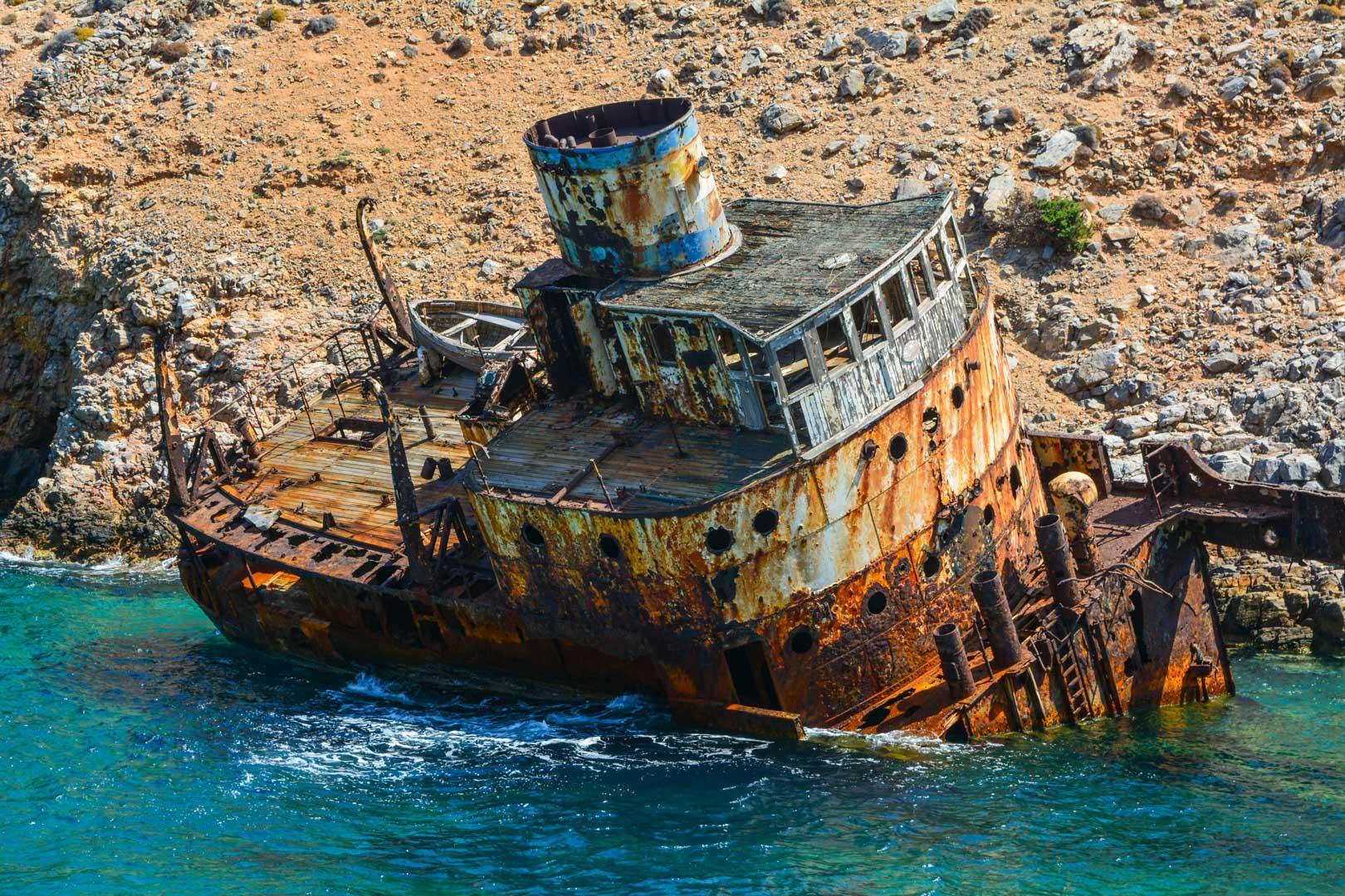 ναυάγιο Ολυμπία Αμοργός travelshare.gr