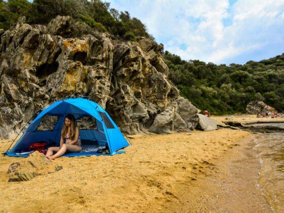 παραλία καραγάτσια έγκυος Αμμουλιανή travelshare.gr