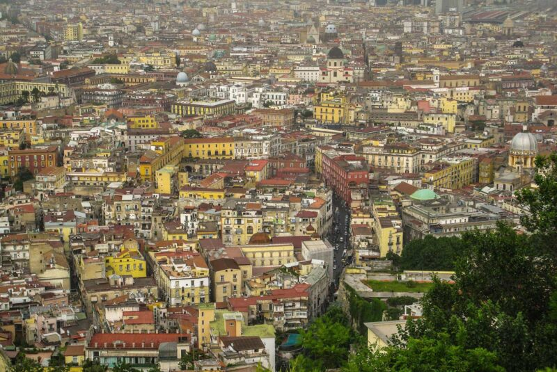 napoli view from above travelshare.gr