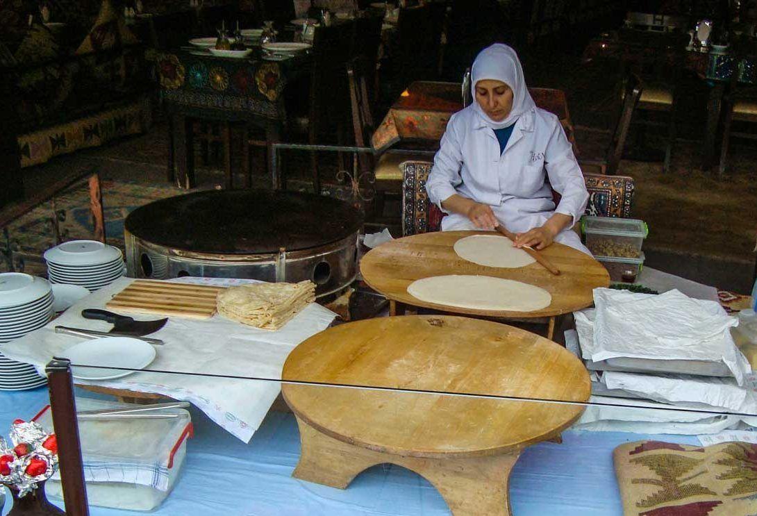 χειροποίητος Γκιουζλεμές φαγητο Κωνσταντινούπολη