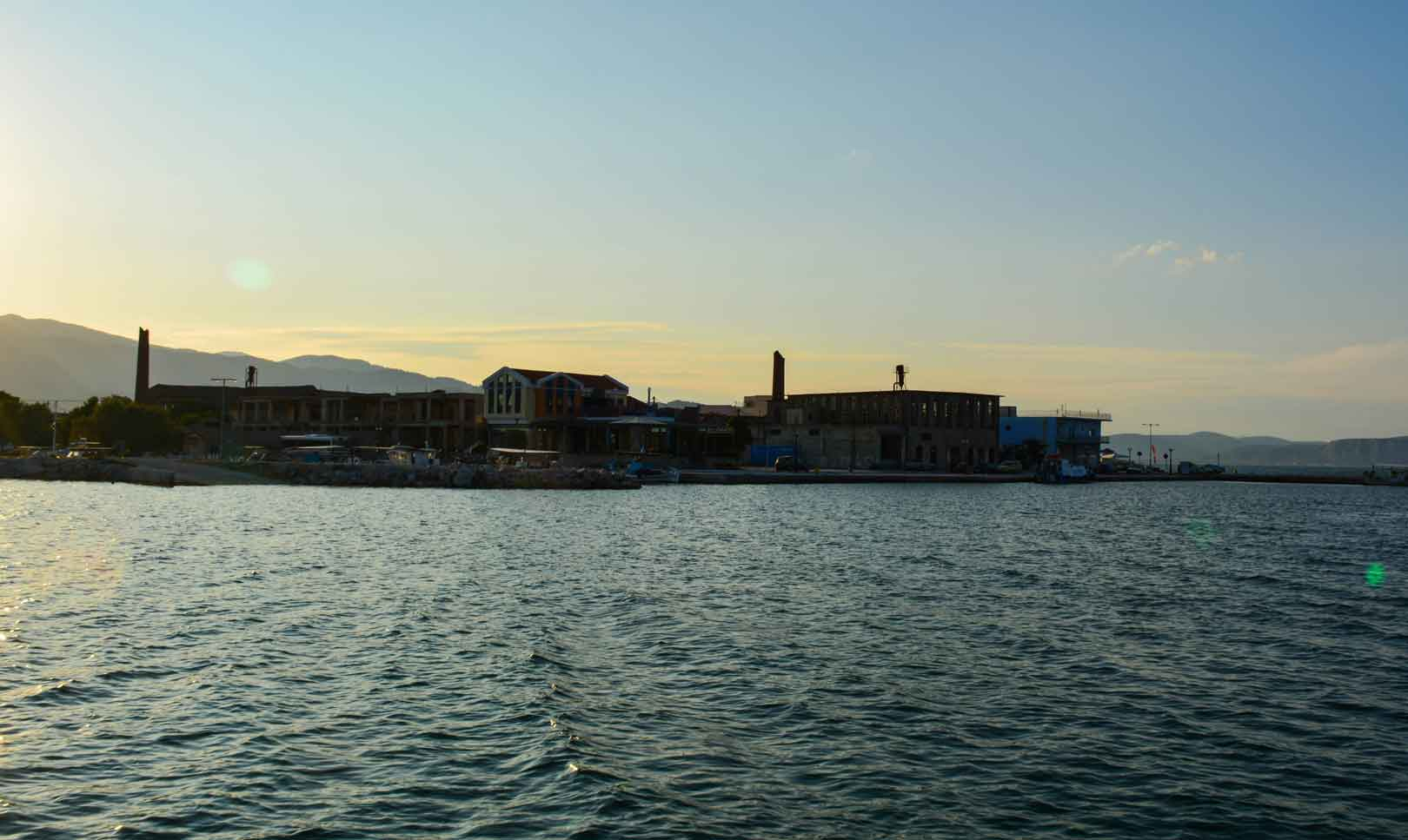 Πέραμα λιμάνι Λέσβος