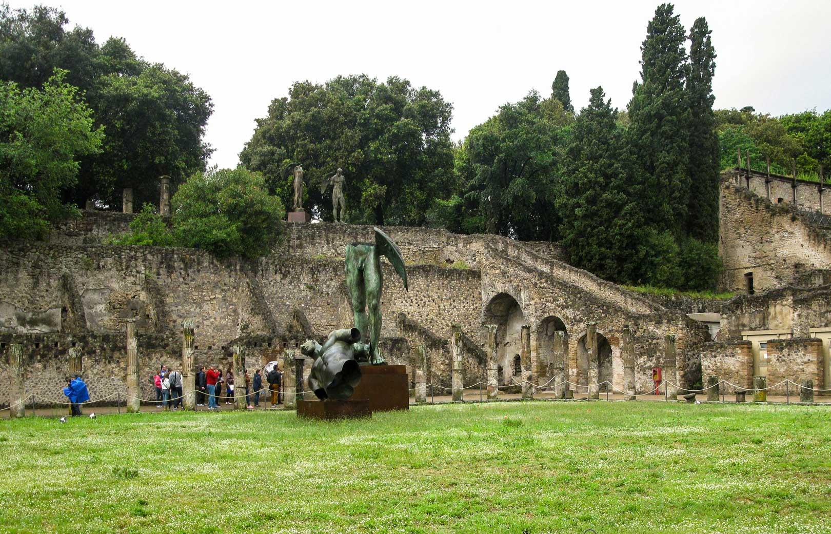 Πομπηία pompeii basilica travelshare.gr