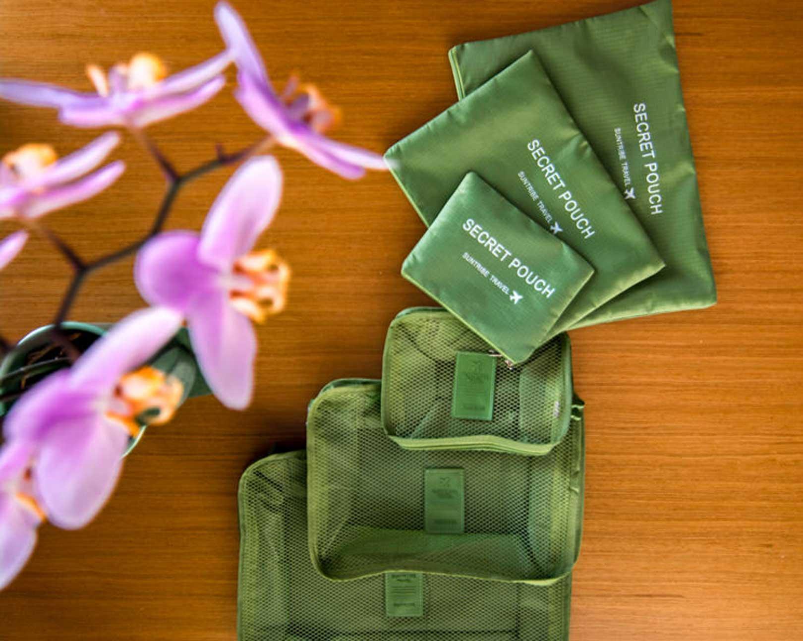 giveaway σετ οργάνωσης βαλίτσας