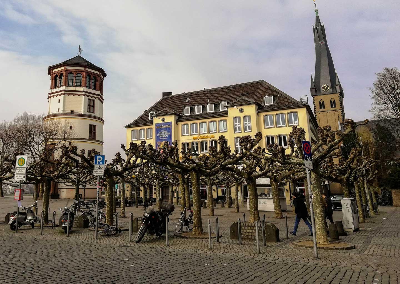 ταξίδι στο Dusseldorf - Burgplatz