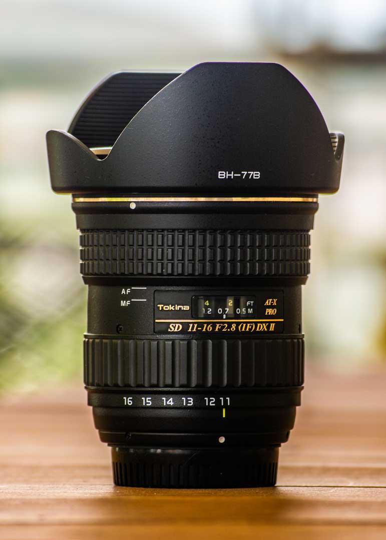 tokina 11-16mm DX II ultra-wide φακούς