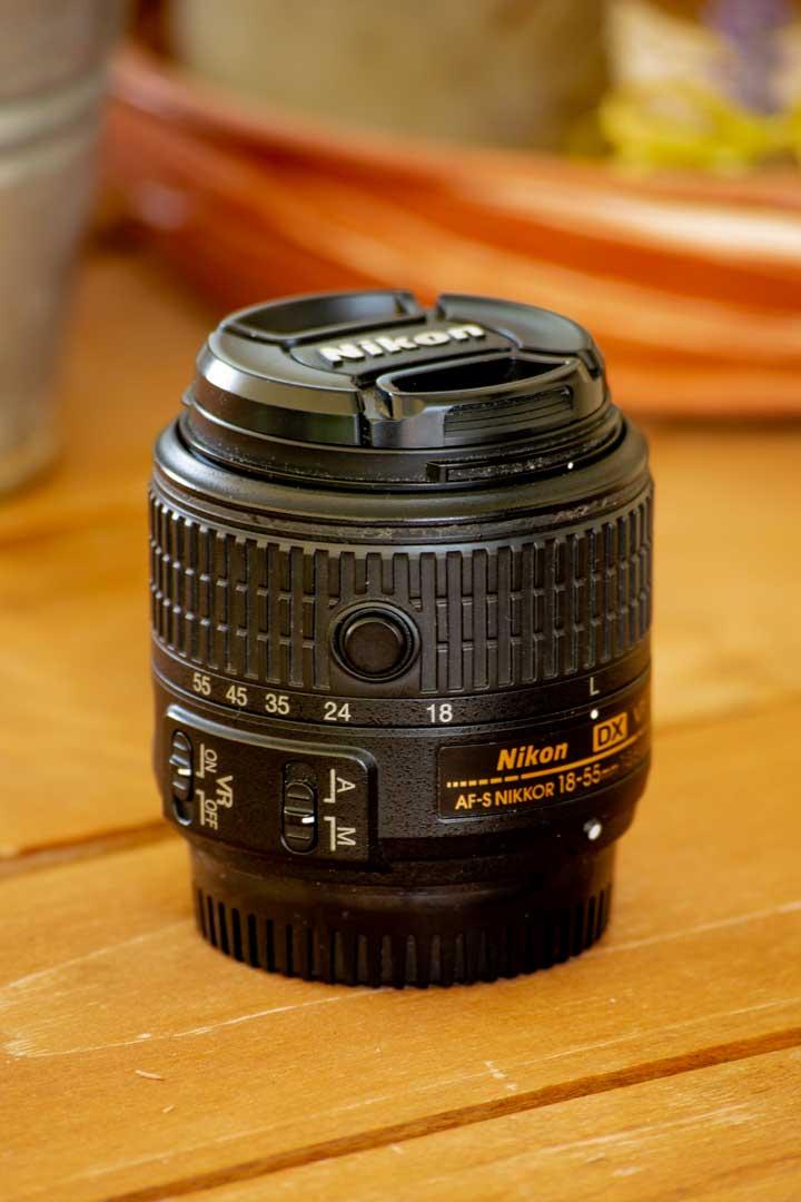 nikkor 18-55mm DX φακούς