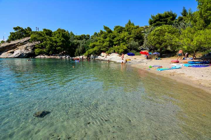 Παραλίες της Χαλκιδικής Σπαθιές