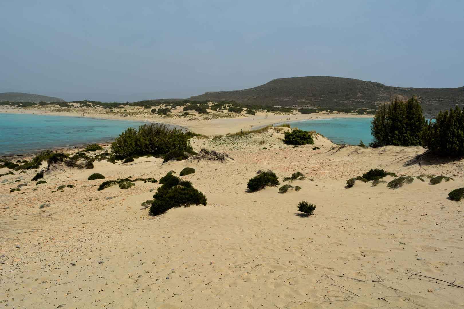Η ελαφόνησος παραλία σίμου