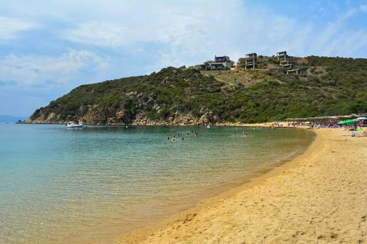 παραλίες της Χαλκιδικής Καραγάτσια