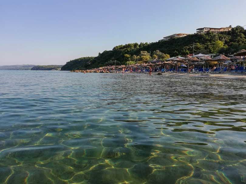 παραλίες της Χαλκιδικής Άφυτος