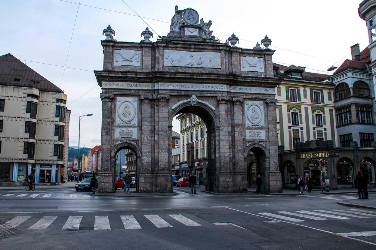 Innsbruck Austria travelshare.gr arc