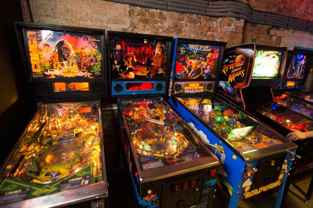 μουσεία της Βαρσοβίας pinball machines