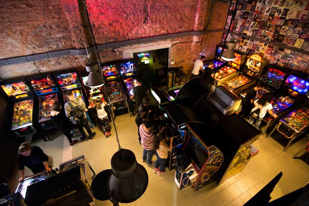 μουσεία της Βαρσοβίας pinball & arcade museum