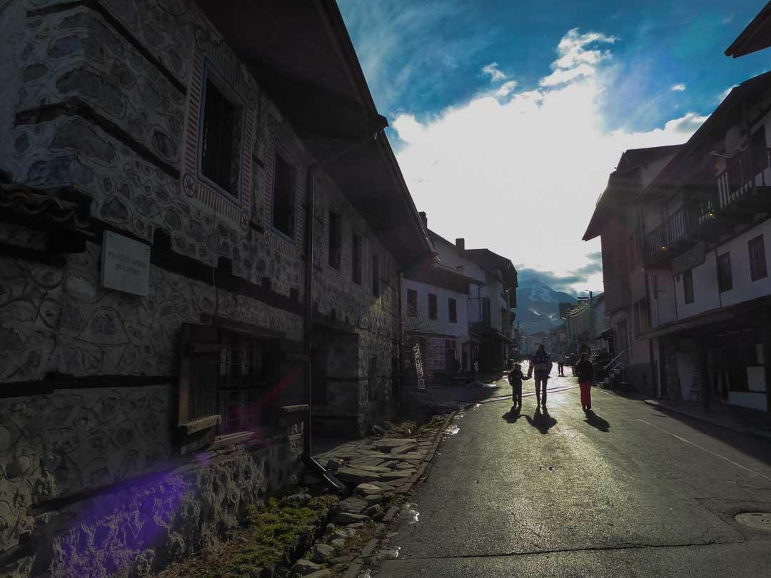 Διακοπές στο Μπάνσκο δρόμος Pirin