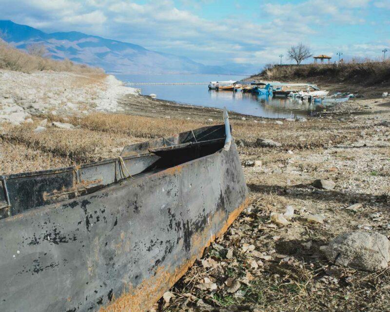 στη λίμνη Κερκίνη βάρκα travelshare.gr