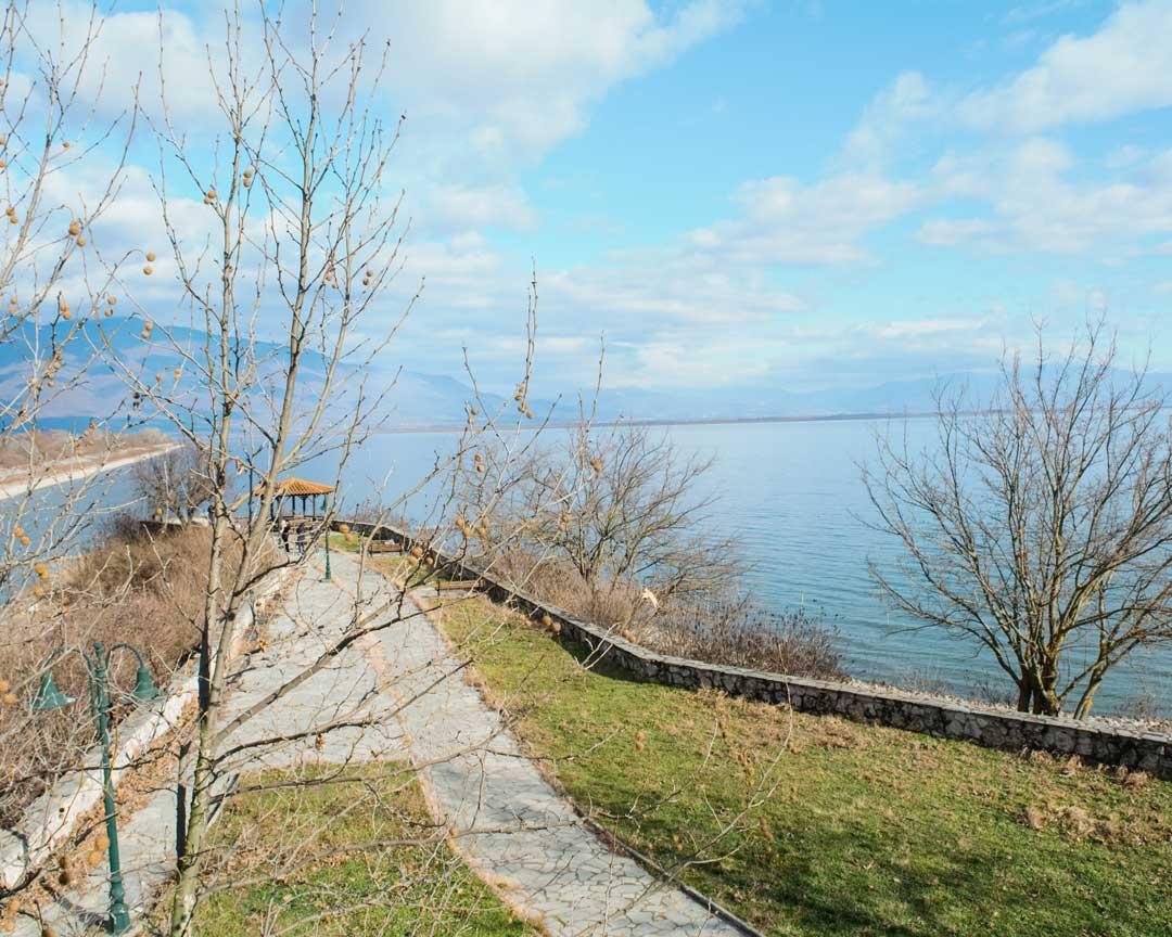 στη λίμνη Κερκίνη θέα travelshare.gr