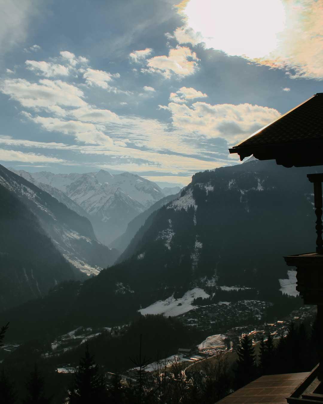 View from Finkenberg travelshare.gr Austria