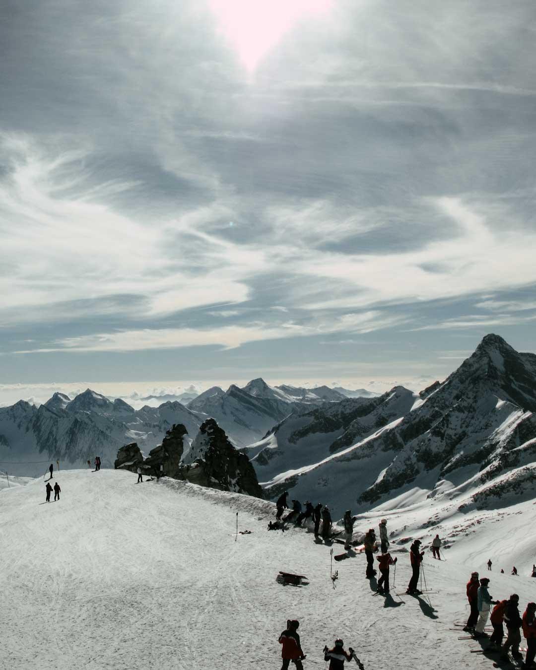 Hintertux Glacier 3250m travelshare.gr χιονοδρομικά της Αυστρίας