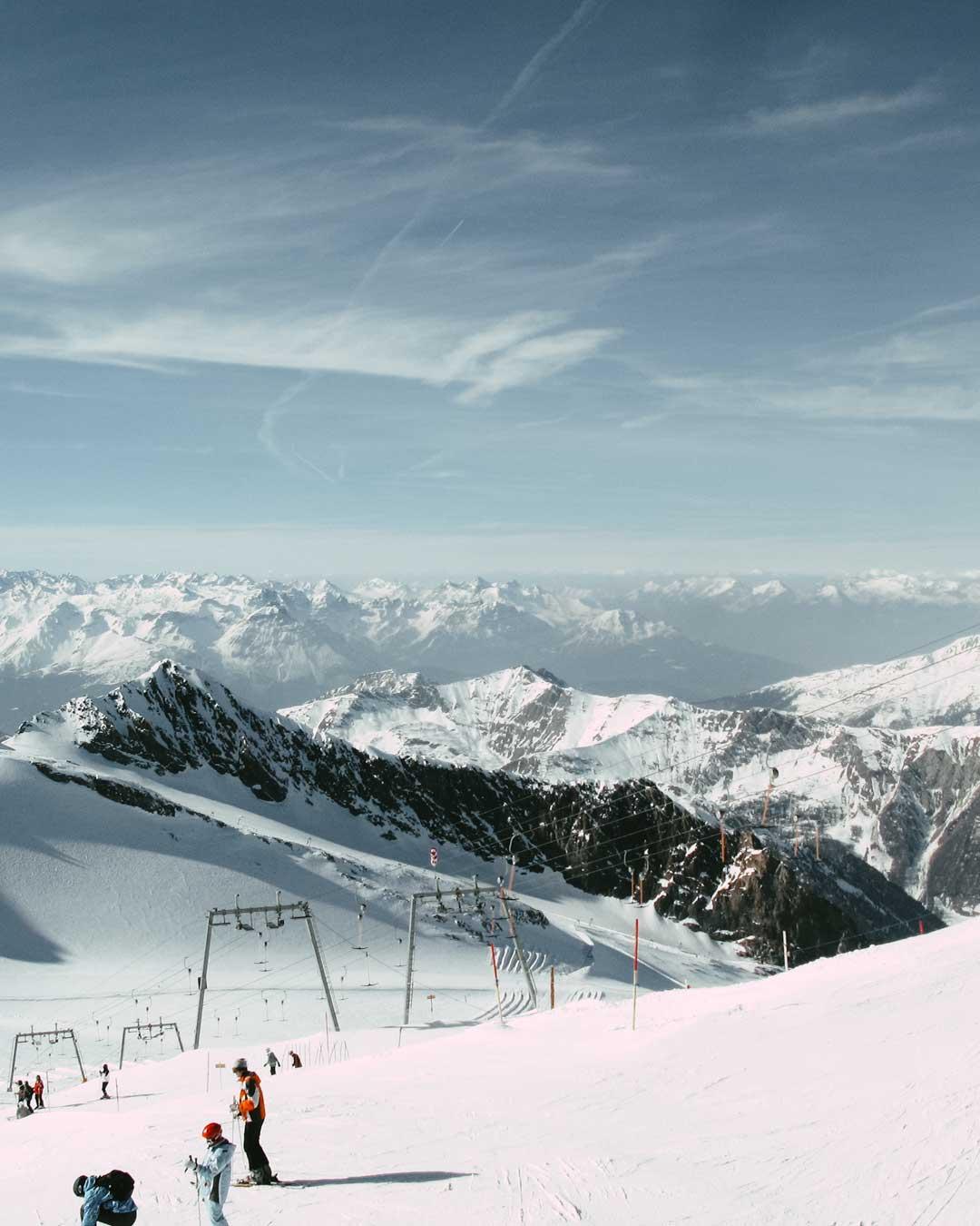 χιονοδρομικά της Αυστρίας travelshare.gr Hintertux