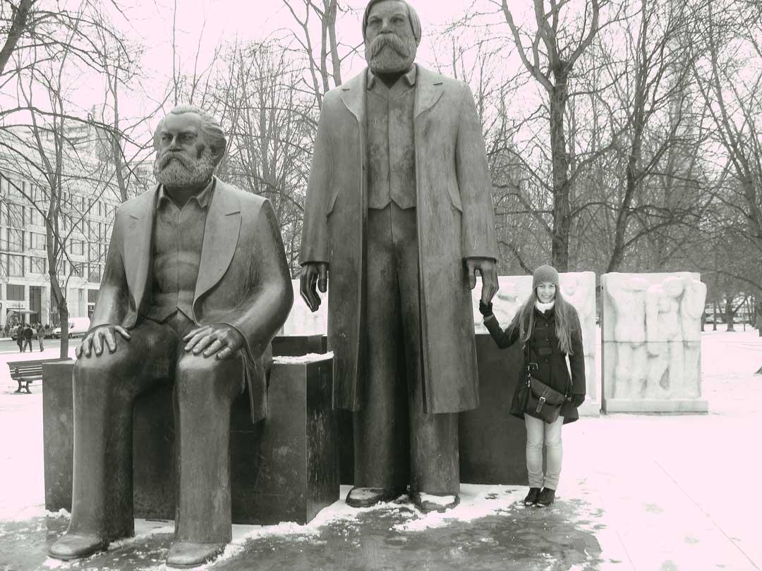 οδηγός για το Βερολίνο Marx