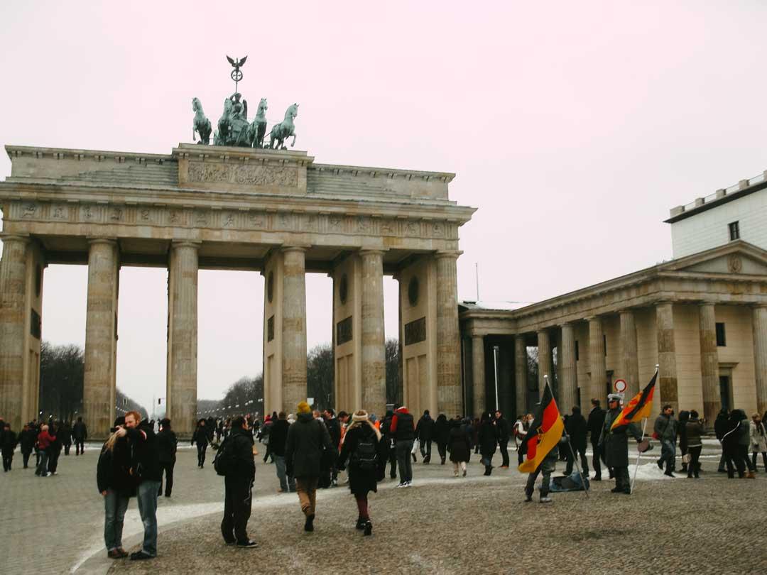 Οδηγός για το Βερολίνο Πύλη Βραδεμβούργου