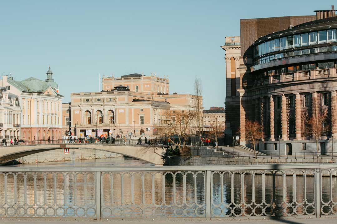 ταξίδι στη Στοκχόλμη κοινοβούλιο