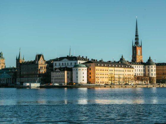 Ταξίδι στη Στοκχόλμη - θέα από το Δημαρχείο