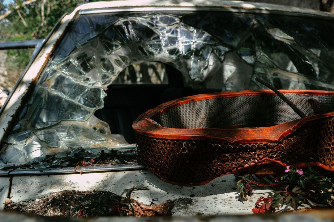 βασιλικά κτήματα Τατοίου - αυτοκίνητο
