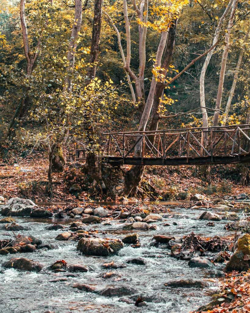 Γουμένισσα Δύο ποτάμια γέφυρα
