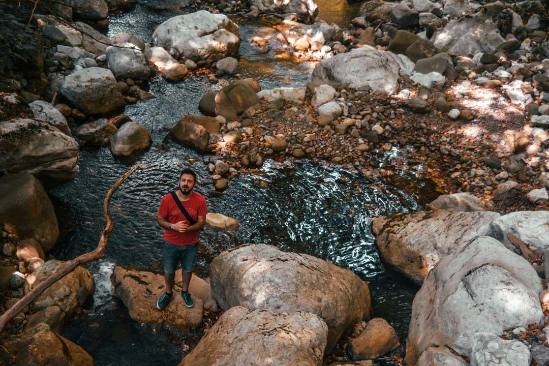 χωριά της Φωκίδας - Αθανάσιος Διάκος ποτάμι