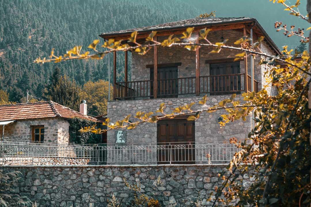χωριά της Φωκίδας - Αθανάσιος Διάκος μουσείο