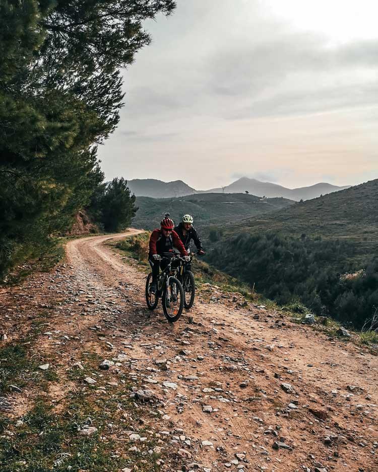 καταρράκτης Ραπεντώσας mountain bike