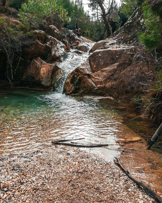 Καταρράκτης Ραπεντώσας ποτάμι