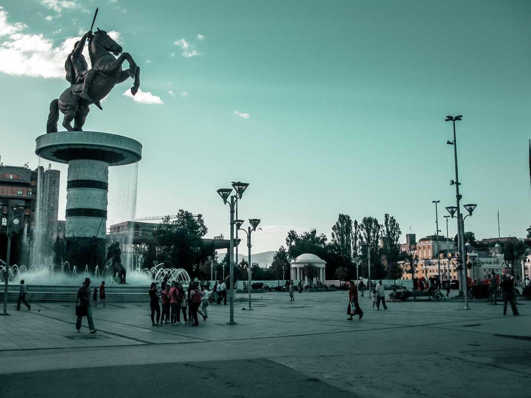Τι να κάνεις στα Σκόπια - κέντρο