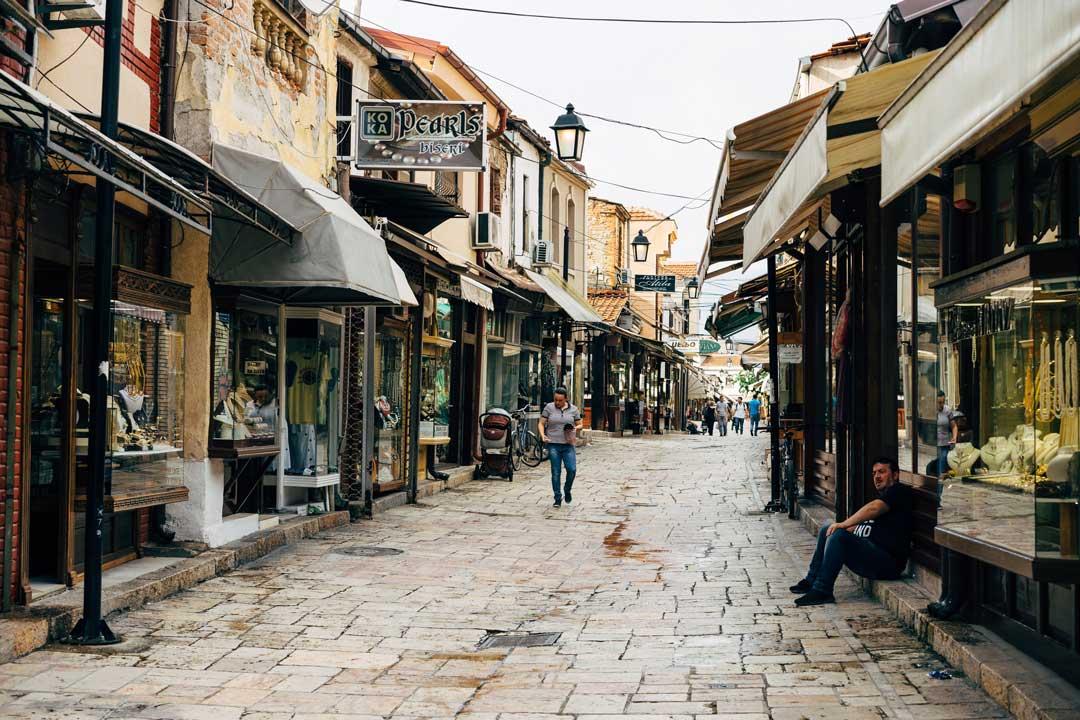 Τι να κάνεις στα Σκόπια - Παλιό παζάρι