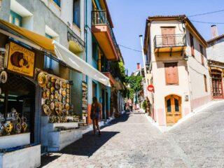 Αγιάσος Λέσβου το πολύχρωμο χωριό