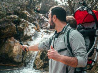 Καταρράκτες Ραπεντώσας travelshare.gr πεζοπορία με μωρό