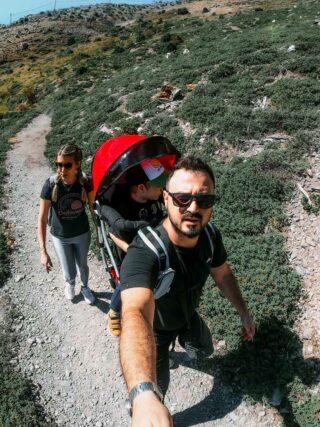 Πάρνηθα με παιδί travelshare.gr