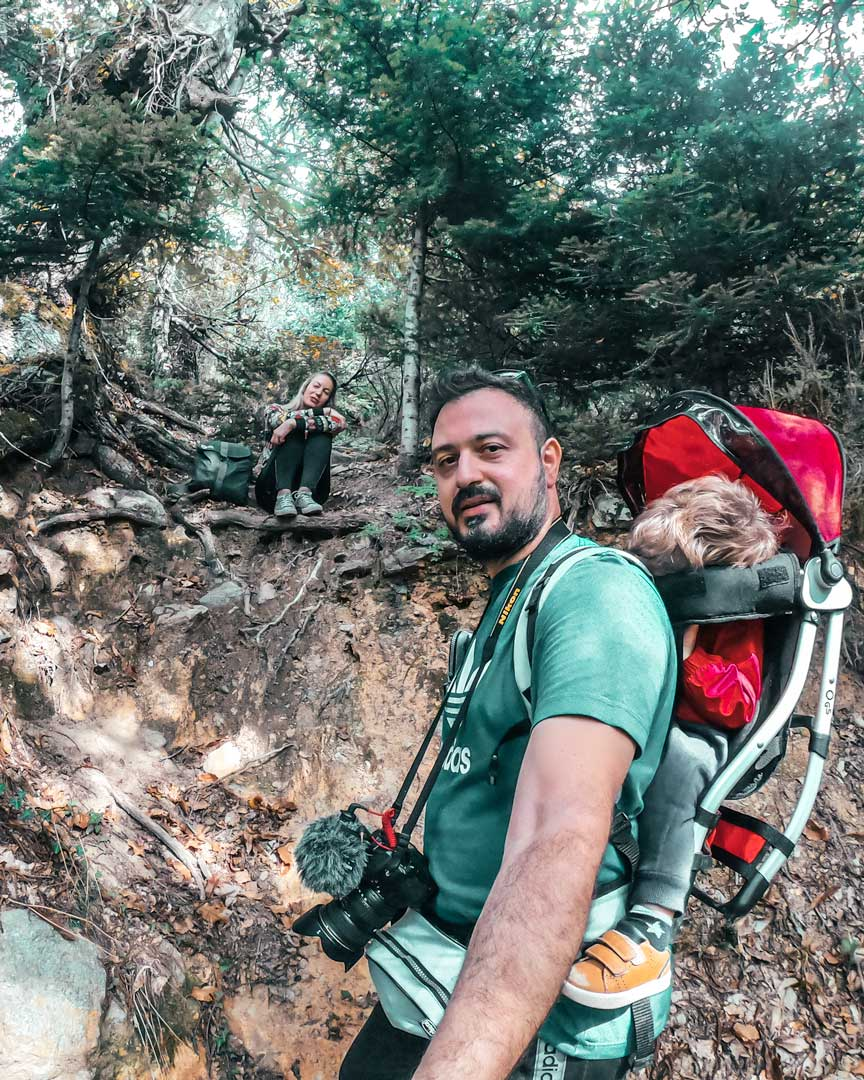 travelshare.gr πεζοπορία με παιδί Στενή Ευβοίας