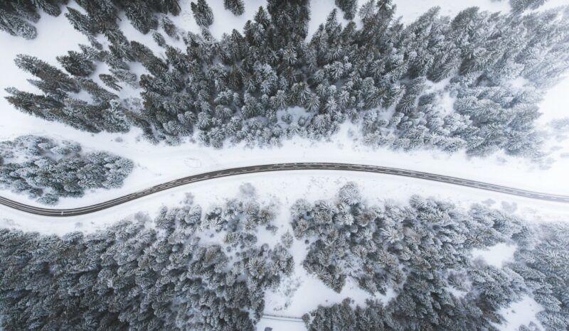 drone το χειμώνα winter drone photo travelshare.gr