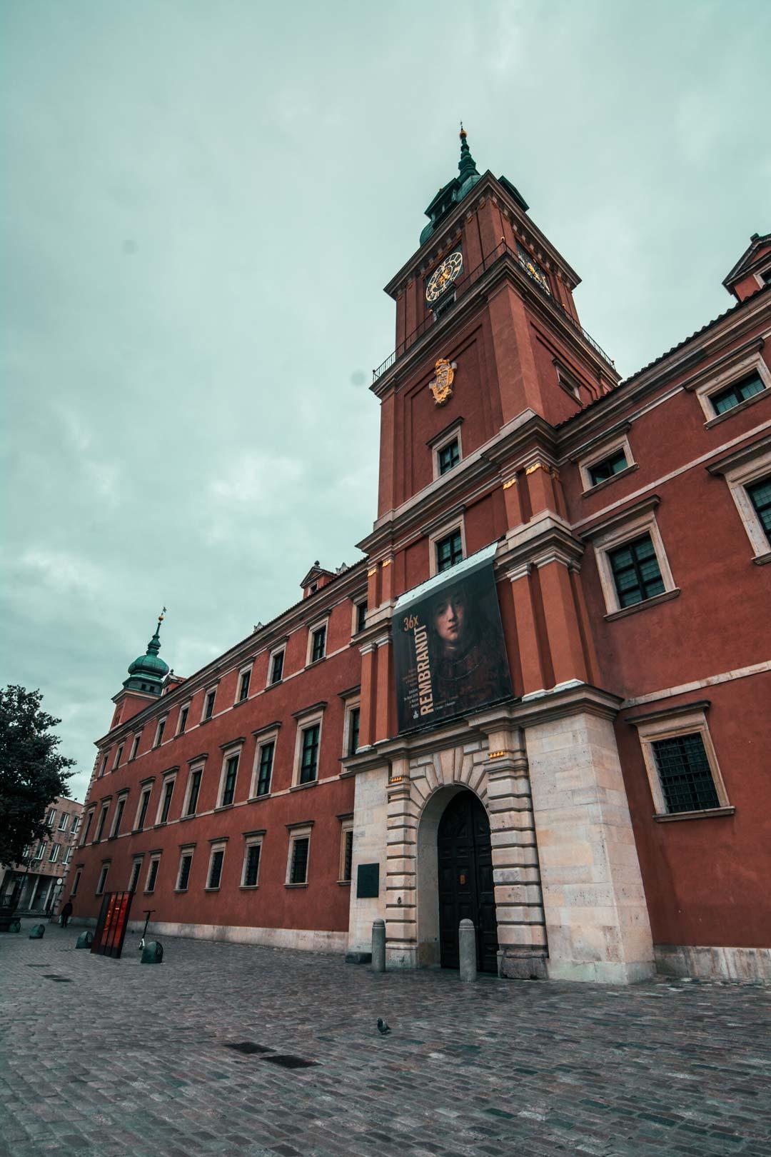 Βασιλικό-κάστρο-Βαρσοβίας
