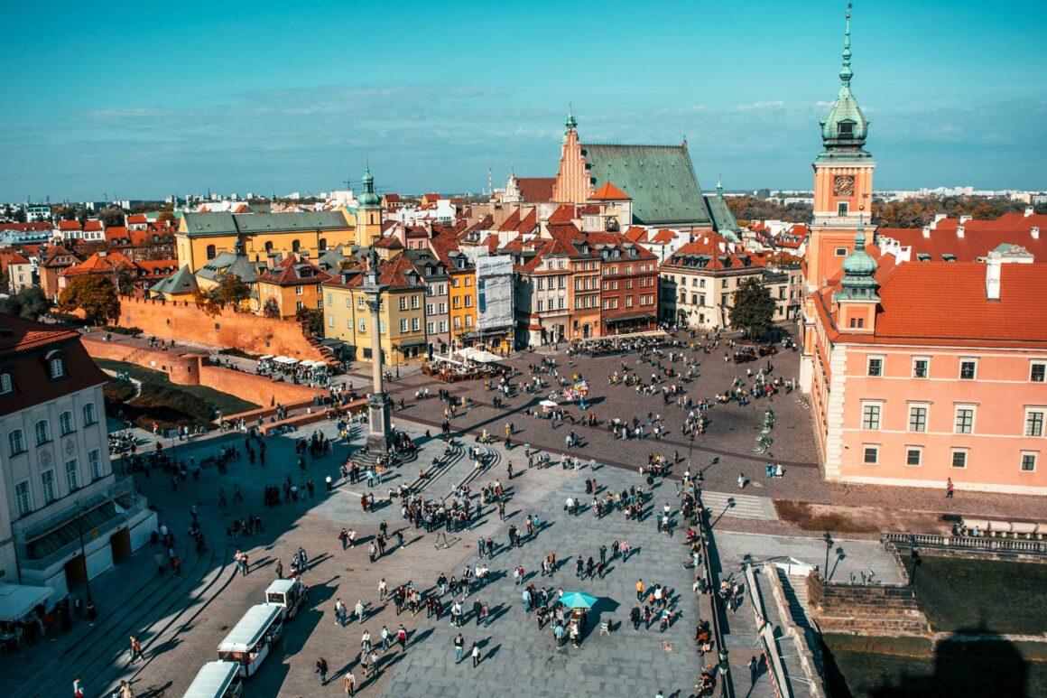 Θέα-από-ψηλά-Βαρσοβία-Travelshare.gr-Βασιλικό-κάστρο