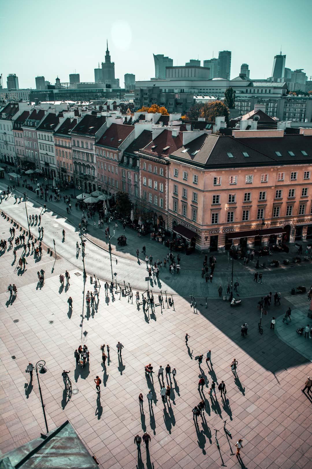 φωτογραφία στη Βαρσοβία-θέα-από-το-καμπαναριό-της-Εκκλησίας-της-Αγίας-Άννας