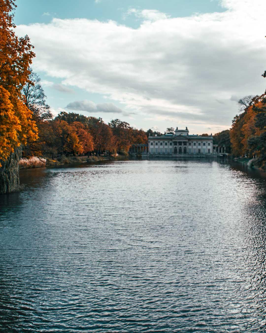 Φωτογραφία στη Βαρσοβία Lazienki Palace travelshare.gr